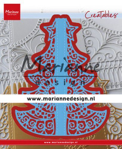 Marianne Design - Creatable - Gate Folding Dies - Christmas