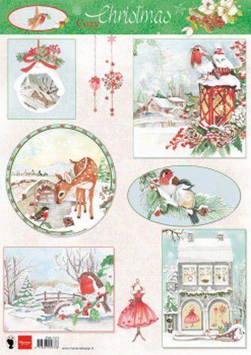 Marianne Design - Knipvellen Cozy Christmas