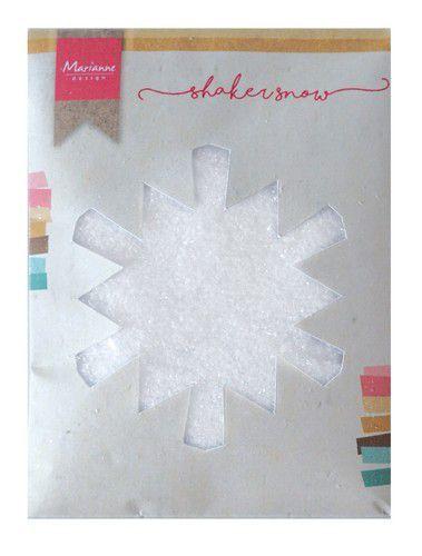 Marianne Design - Shaker Fijne sneeuw met glitter  - 50 gr