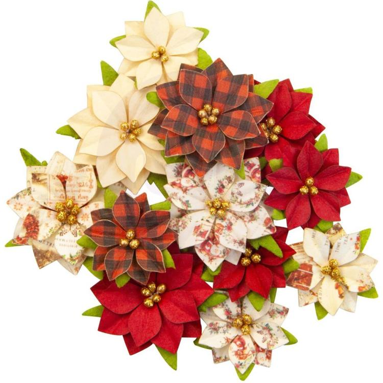 Prima Marketing - Christmas in the Country - Flowers Sugar Plum
