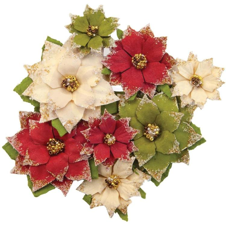 Prima Marketing - Christmas in the Country - Flowers Tidings