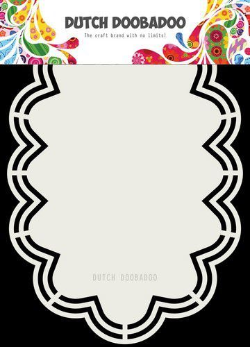 Dutch Doobadoo - Dutch Shape Art - Wolk Amy