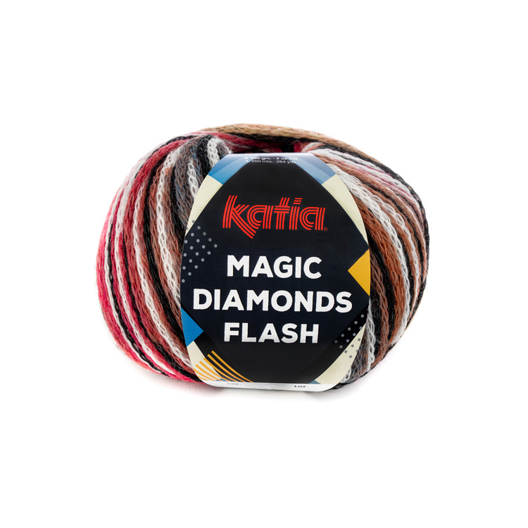 Breiwol Katia - Magic Diamonds Flash - Kleur 103