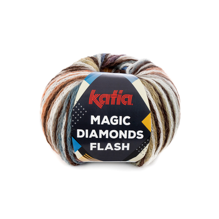 Breiwol Katia - Magic Diamonds Flash - Kleur 104