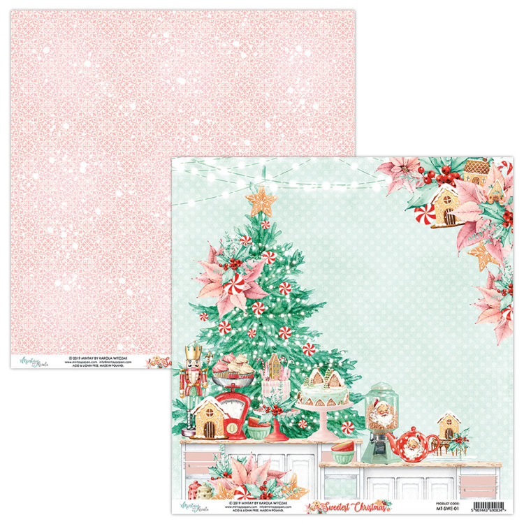 Mintay Papers - The Sweetest Christmas - TSC-01