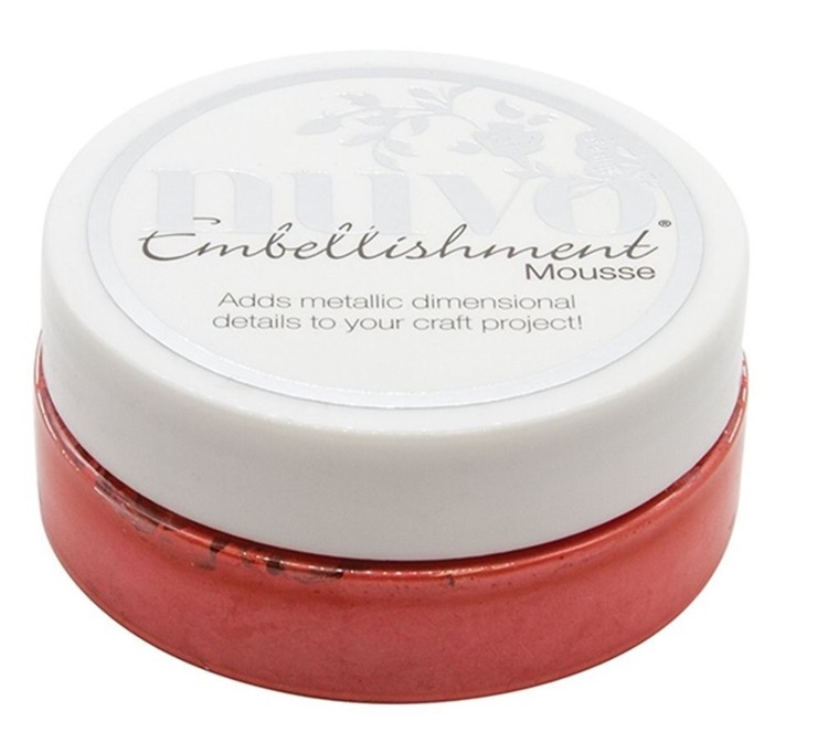 Nuvo - Embellishment Mousse - Fusion Red