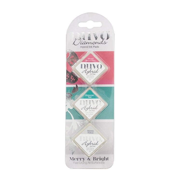 Nuvo - Diamond Hybrid Ink Pads - Merry & Bright