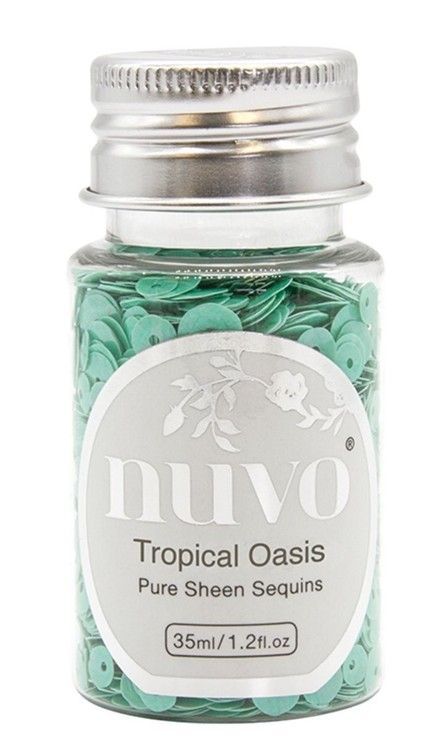 Nuvo - Pure Sheen Sequins - Tropical Oasis