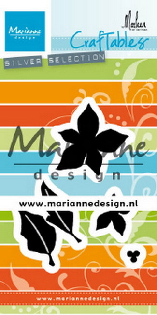 Marianne Design - Craftable - Poinsettia by Marleen