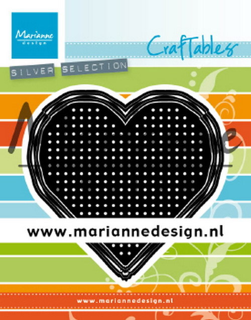 Marianne Design - Craftable - Cross Stitch: Heart