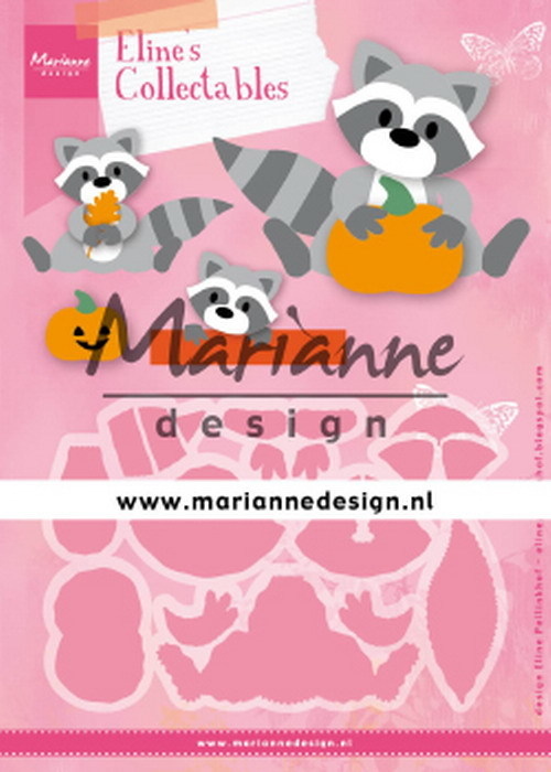 Marianne Design - Collectables - Eline's Raccoon