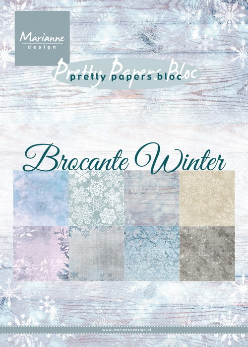 Marianne Design - Paperpad A5 - Brocante Winter