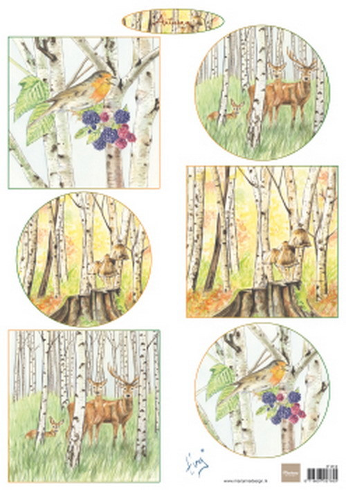 Marianne Design - Knipvel - Tiny's Autumn