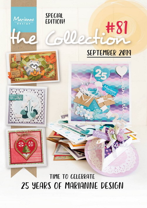 Marianne Design - Tijdschrift - The Collection #81