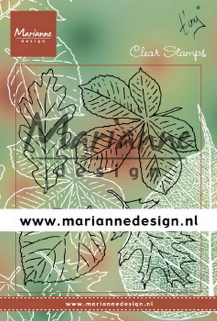 Marianne Design - Clearstamp - Tiny's Leaves Set