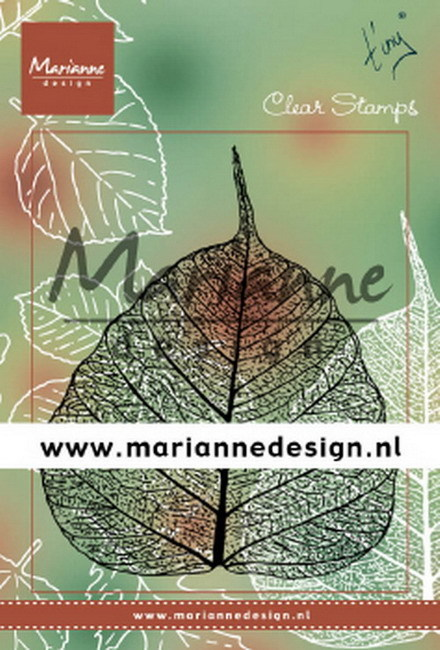 Marianne Design - Clearstamp - Tiny's Leaf