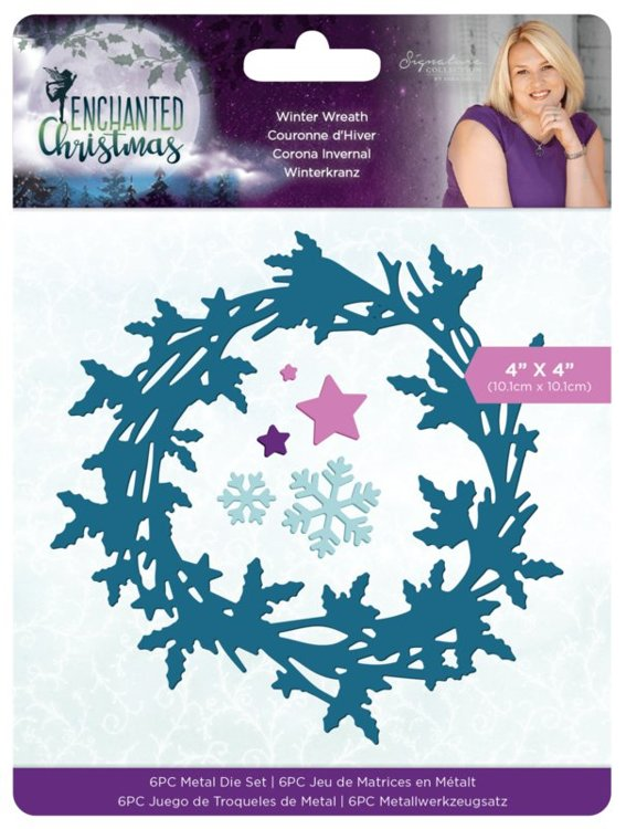 Crafter's Companion - Stansmal - Enchanted Christmas - Winter Wreath