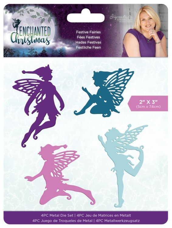 Crafter's Companion - Stansmal - Enchanted Christmas - Festive Fairies