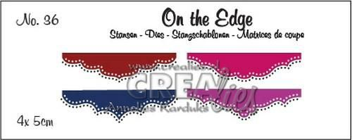 Stansmal Crealies - On the Edge - no 36