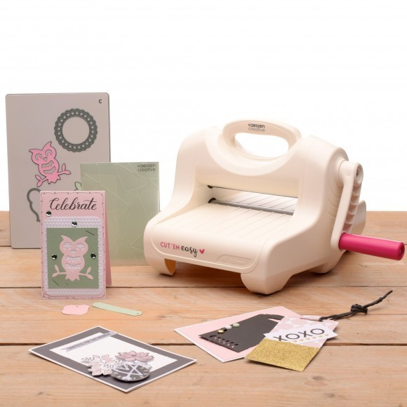 PRE-ORDER 1 - Vaessen Creative - Cut'Em Easy snij- en embossing machine A5