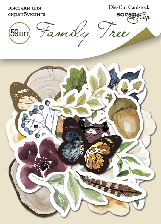 Scrapmir - Family Tree Die Cuts