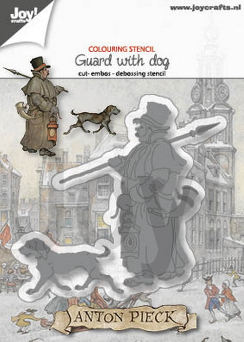 Joy! Crafts - Anton Pieck - Stansmal Guard with Dog
