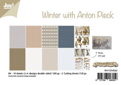 Joy! Crafts - Anton Pieck - Paperpad Winter with Anton Pieck