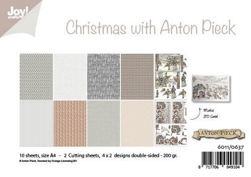 Joy! Crafts - Anton Pieck - Paperpad Christmas with Anton Pieck