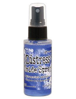 Distress Oxide Spray - Blueprint Sketch