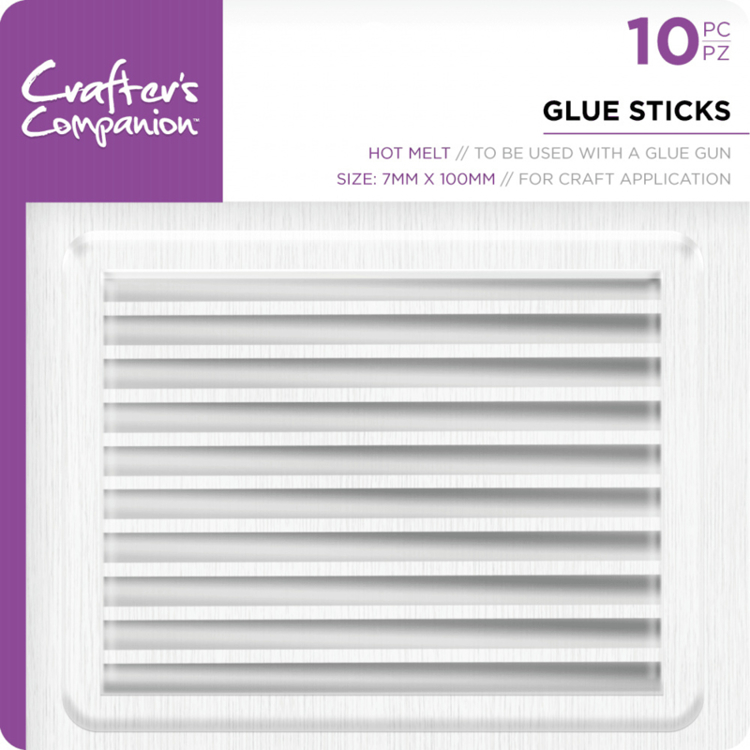 Crafter's Companion - Glue Sticks 7mm - 10 stuks