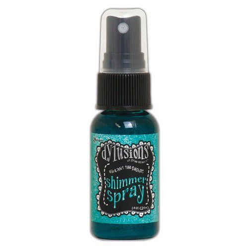 Dyan Reaveley`s - Dylusions - Shimmer Spray 1 OZ - Vibrant Turquoise