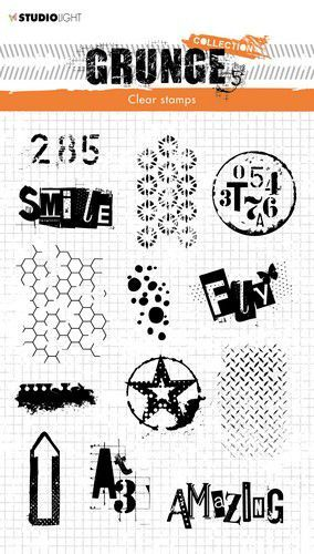 Studio Light - Clearstempel Grunge Collection 3.0 - STAMPSL408