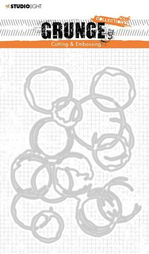 Studio Light - Cutting & Embossing Die Grunge Collection 3.0 - STENCILSL224