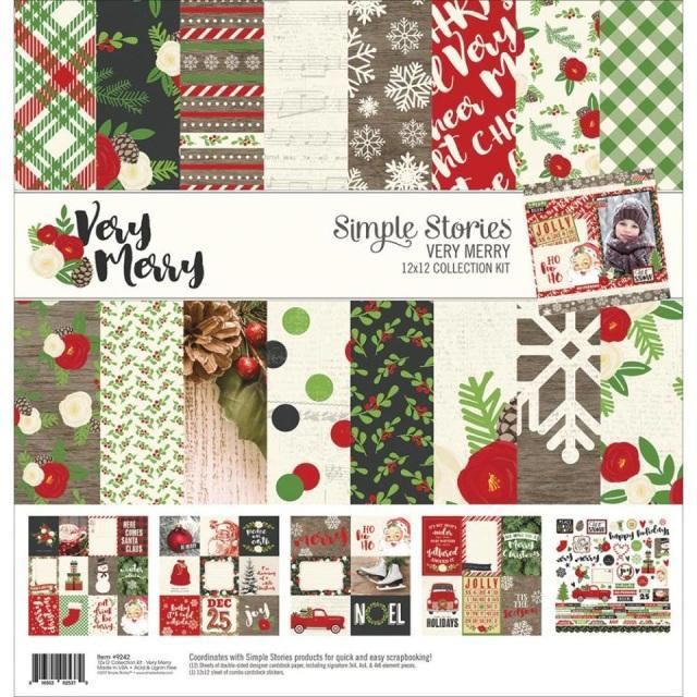 Collection kit - Simple Stories - Very Merry