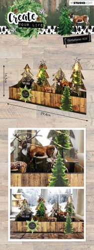 Studio Light - MDF Set - Create Your Life - Christmas 56
