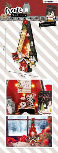 Studio Light - MDF Set - Create Your Life - Christmas 58