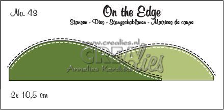 Stansmal Crealies - On The Edge  - no 43