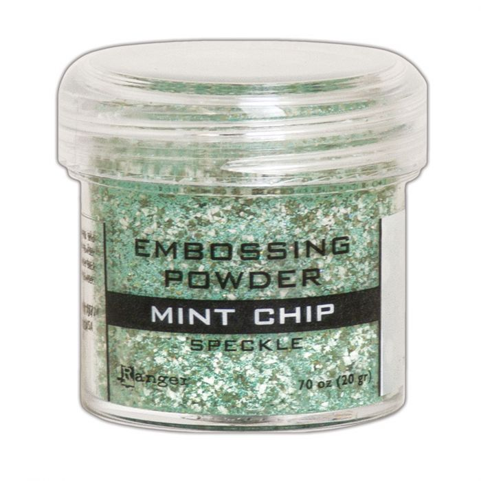 Ranger - Embossing Powder - Speckle - Mint Chip