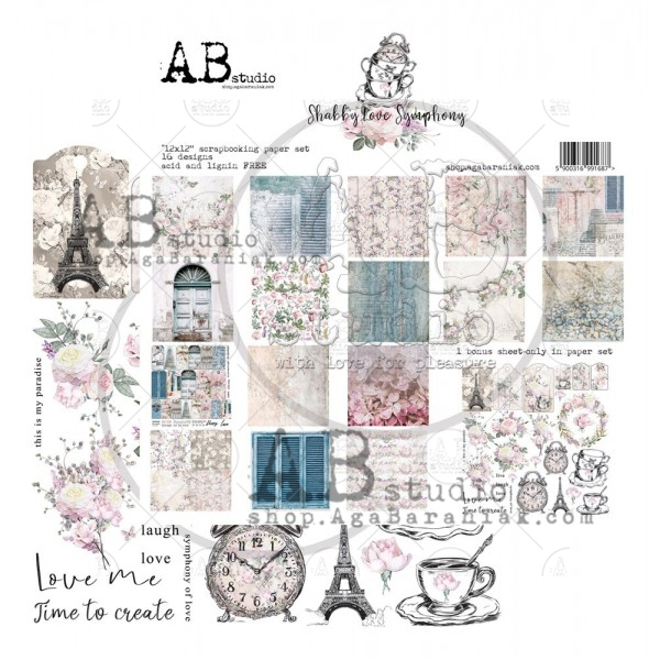 Collection Kit - AB Studio - Shabby love Symphony