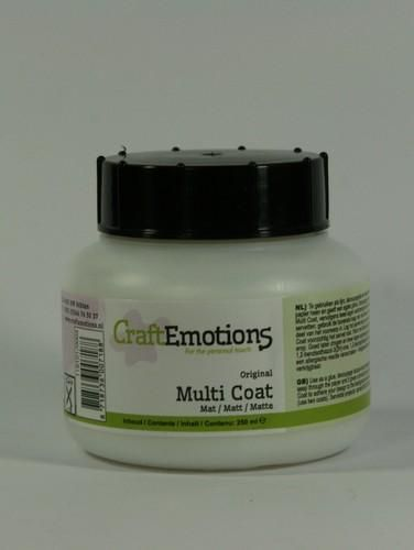 CraftEmotions - Multi coat mat - 250ML
