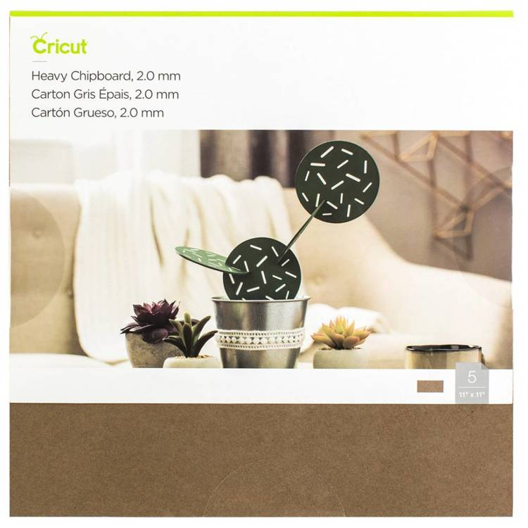"Cricut - Heavy Chipboard 11""X11"""
