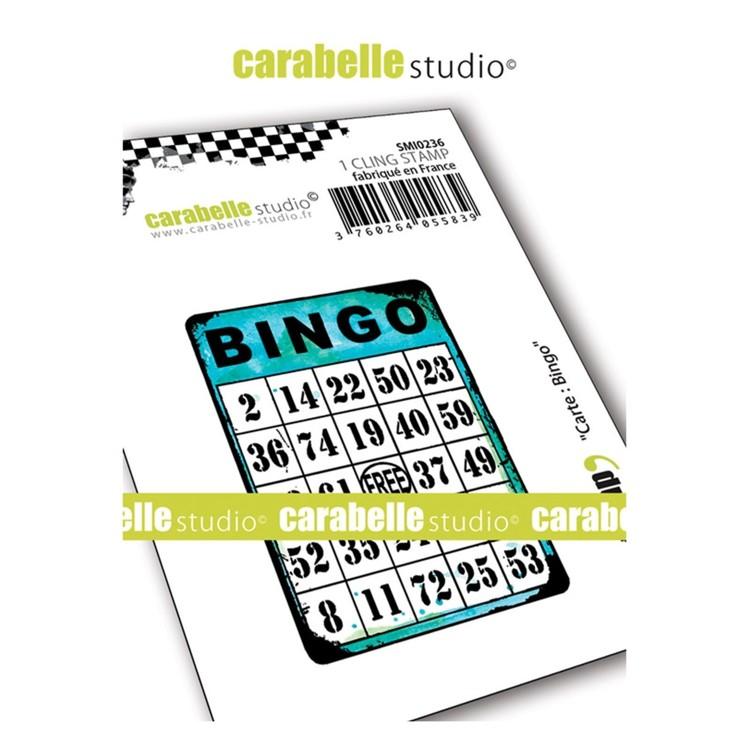 Carabelle Studio - Cling stamp - Bingokaart