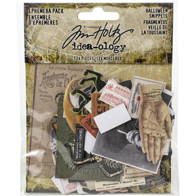 Tim Holts - Idea-Ology - Ephemera Pack - Die Cuts