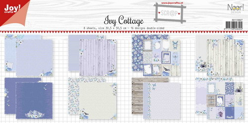 Noor! Design - Scr@p! Collection - Paperpad 30,5 x 30,5 cm - Ivy Cottage