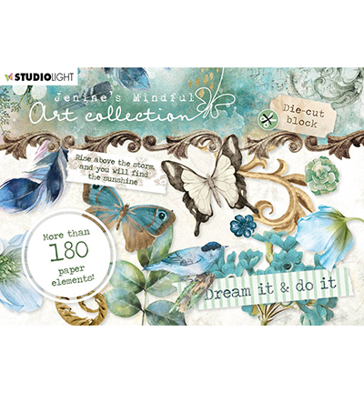 Studio Light - Jenine's Mindful Art Collection - Die-Cut Block A6 (02)