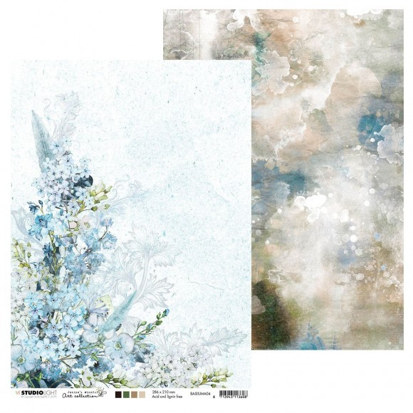Studio Light - Jenine's Mindful Art Collection - Design papier A4 formaat - 04