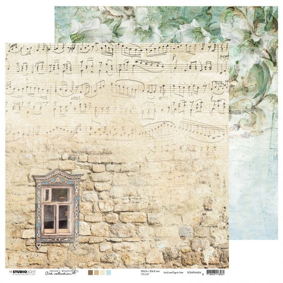 Studio Light - Jenine's Mindful Art Collection - Scrappapier 30,5 x 30,5 cm - 04