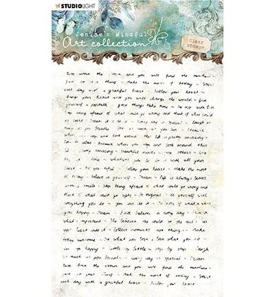 Studio Light - Jenine's Mindful Art Collection - Clearstamp A6 - 01