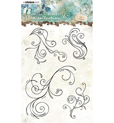 Studio Light - Jenine's Mindful Art Collection - Clearstamp A6 - 02