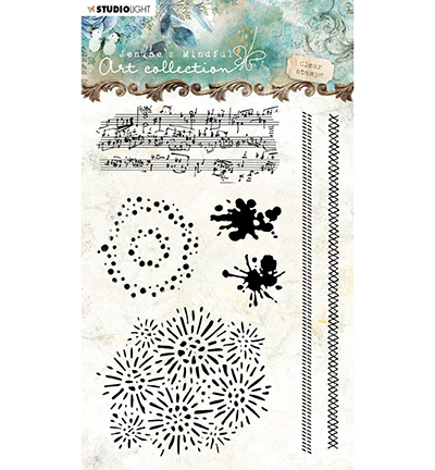 Studio Light - Jenine's Mindful Art Collection - Clearstamp A6 - 03